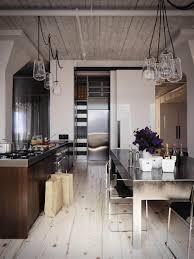 kitchen industrial kitchen design ideas with square extendable