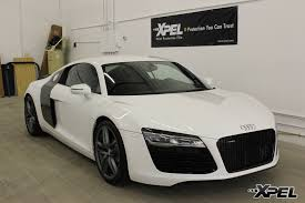 audi r8 wrapped 2014 audi r8 full xpel stealth matte finish film wrap austin tx