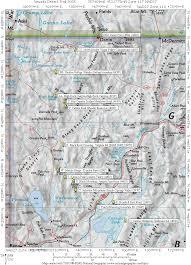 Nevada Map Nevada Desert Trail 2005 Bmp