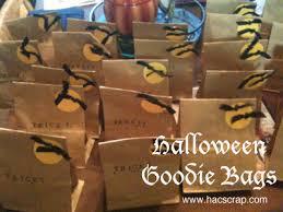 Halloween Goodie Bags Hillary Chybinski How To Make Halloween Goodie Bags