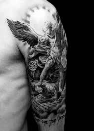 angel tattoo on forearm tattoo collections