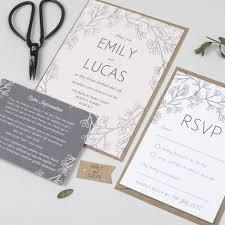 garden wedding invitations secret garden wedding invitation by pear paper co