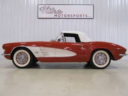 fuel injected corvette 1961 chevrolet corvette fuel injected convertible for sale in fort