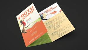 youth camp church flyer poster template inspiks market