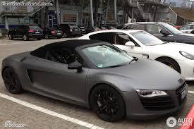 audi r8 spyder black audi r8 v10 spyder 25 february 2013 autogespot