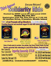2017 solidarity ride ibew local 99