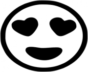 printable heart emoji coloring pages printable