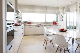 White Plastic Kitchen Chairs - white eames molded plastic chair u2014 home ideas collection the