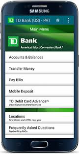 bank of america app for android tablets https www tdbank exc img images android b an