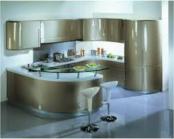 kitchen lovely modern curved kitchen island black white kitchens