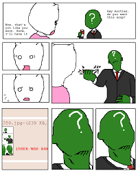 Anon Meme - green anon old anonymous know your meme