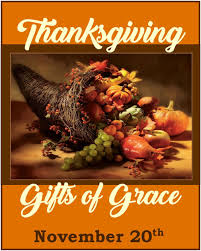 thanksgiving gifts of grace point of grace church