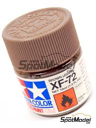 tamiya acrylic paint brown jgsdf xf 72 ref tam81772 paints