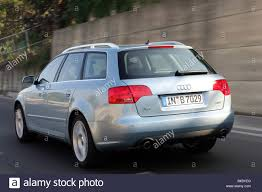 audi a4 2004 silver car audi a4 avant facelift model year 2004 silver blue stock