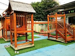 Best  Playground Flooring Ideas On Pinterest Scooter Storage - Backyard playground designs