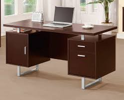 Rustic Modern Desk by Furniture Credenza Desk With Concrete Flooring And White Wall