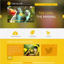 website design free 20 beautifully designed free psd web templates develop a website
