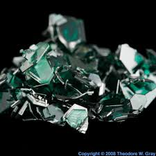 Diamond Periodic Table Silicon Carbide Crystals A Sample Of The Element Silicon In The