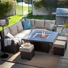 Firepit Patio Table by Outdoor Patio Set With Fire Pit Fire Pit Ideas