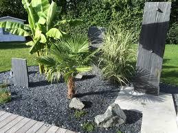 plaque ardoise jardin photos de jardin de style de style tropical massif de plantes