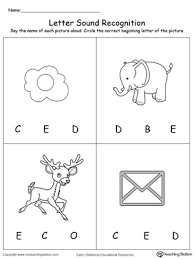 trace words that begin with letter sound e myteachingstation com