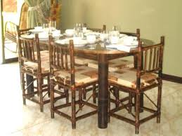 Bamboo Dining Table Set Bamboo Dining Table And Chairs Bamboo Dining Table Chairs