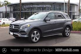 mercedes of irvine used mercedes gle class for sale in irvine ca edmunds