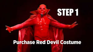 how to make an authentic looking red devil costume for under 100