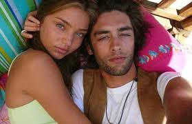 Exes  Lyon and Miranda Kerr  who now has four year old son Daily Mail