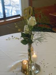 Anniversary Centerpiece Ideas by Our Table Centerpieces For My In Laws 50th Wedding Anniversary A