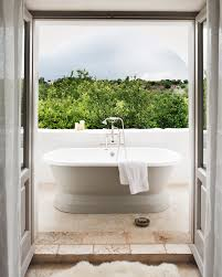 outdoor bathtub masseria petrarolo hip designer getaway in rural puglia