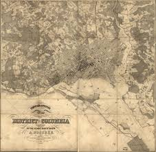 Map Of Washington by Historic Maps Civil War Defenses Of Washington U S National