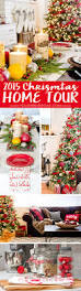 209 best christmas home tours images on pinterest christmas home
