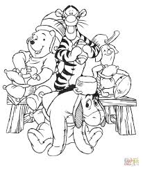 eeyore coloring free printable coloring pages