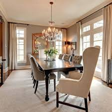 chandeliers cozy picture of dining room modern design and