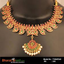 necklace kempu necklace jewellery