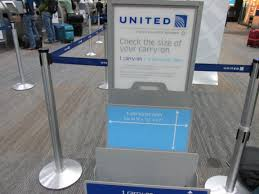 united airlines domestic baggage allowance does united airlines charge for checked bags top click on the