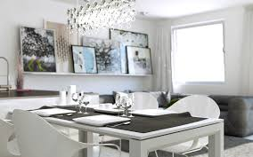 Long White Dining Table by White Dining Suite Interior Design Ideas