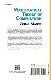 mathematical theory of computation dover books on mathematics