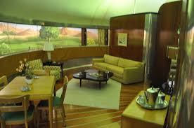 henry ford museum dymaxion house u2013 living room dearborn mi