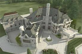 chateau floor plans european home with 6 bdrms 7236 sq ft floor plan 106 1171