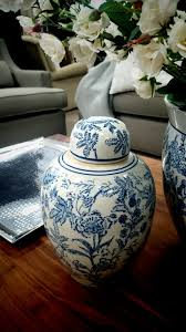 Wetherlys Coffee Table Wetherlys Vase Trend Detail Blue Floral Detail On White Earn