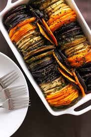 fancy shmancy herb roasted root vegetables