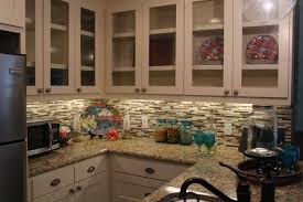 Cool Kitchen Backsplash Furniture Cool Kitchen Design With White Costco Cabinets And