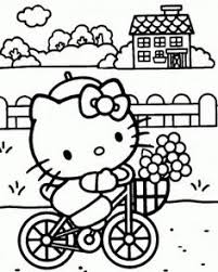 hello kitty coloring pages summer camp hello kitty pinterest