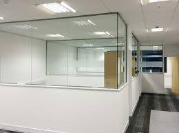 glass office partitions office partitioning altitude interiors