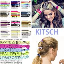 kitsch hair ties akogare shareten rakuten global market 5 pieces of kitsch hair
