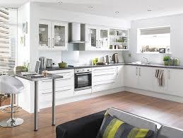 kitchen fantastic white kitchen design with wooden floor and