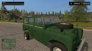 land rover cummins land rover defender 110 fs17 farming simulator 17 mod fs 2017 mod