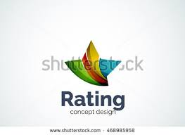 star logo template rating best choice stock vector 468985958